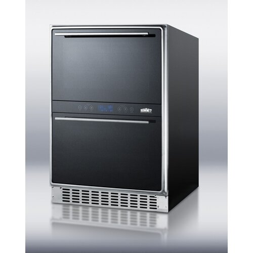 Dual Zone Thermoelectric Built-In Wine Refrigerator