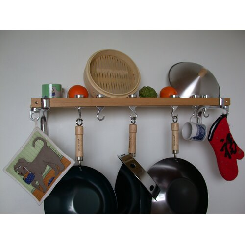 Taylor & Ng Track Rack Wall Pot Rack