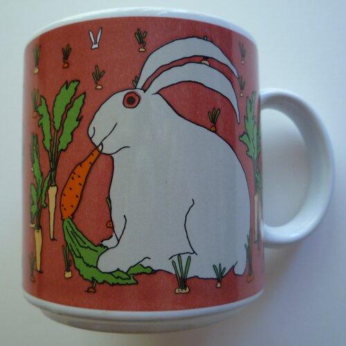 Taylor & Ng Classy Critter 11 oz. Rascal Rabbit Mug