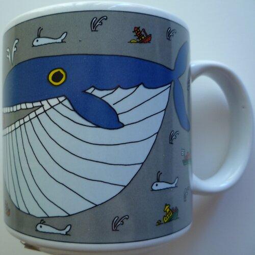 Taylor & Ng Classy Critter 11 oz. Whopper Whale Mug