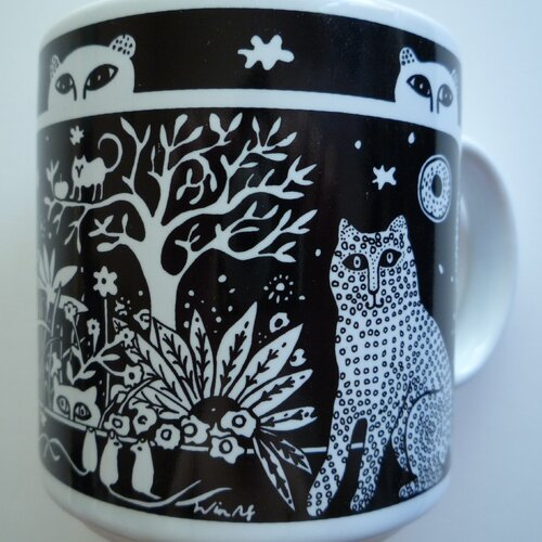 Taylor & Ng Primitives 11 oz. Lion Mug