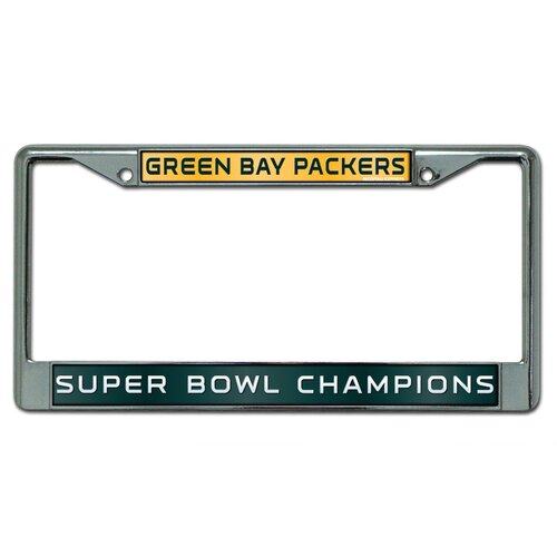 Rico Industries Inc Green Bay Packers Super Bowl XLV Laser Chrome Frame