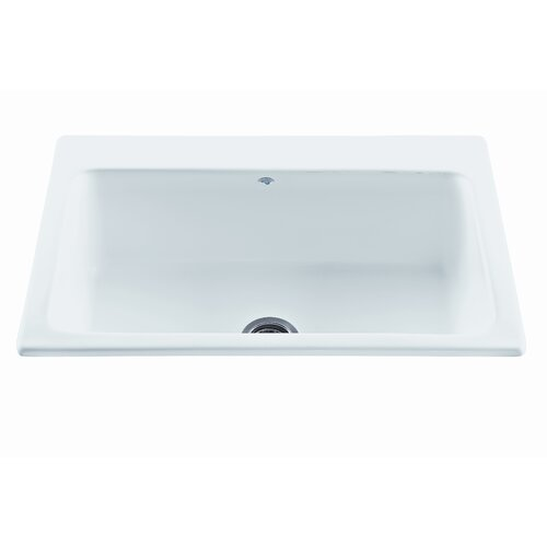 White Fiberglass Kitchen Sink Wayfair