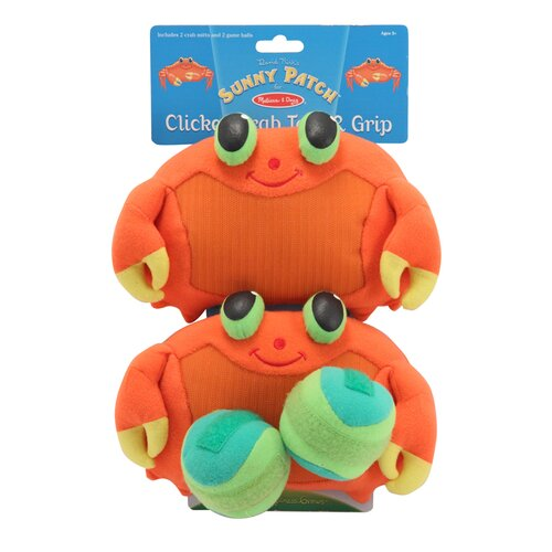 Melissa and Doug Clicker Crab Toss and Grip