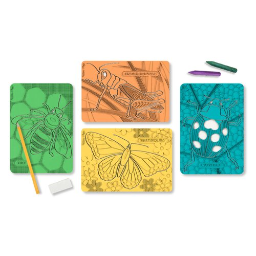 Melissa and Doug Textured Stencils Insects