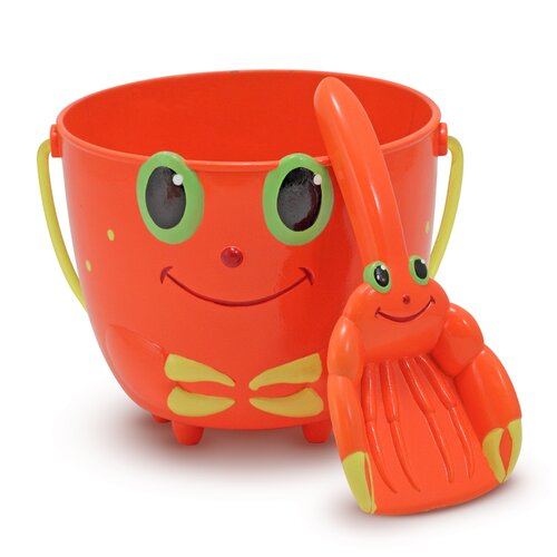 Melissa and Doug Clicker Crab Pail and Shovel