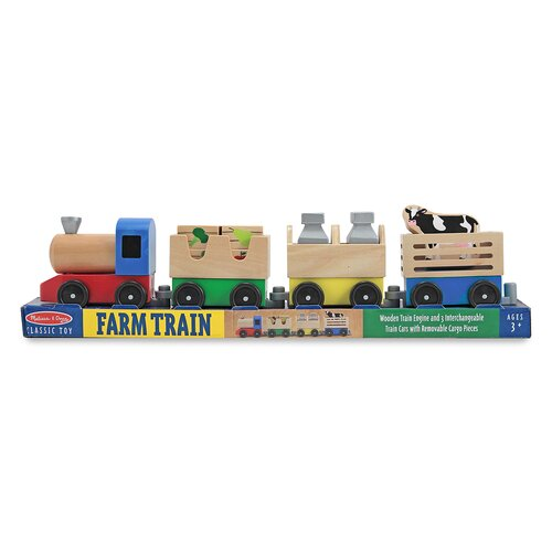 Melissa and Doug Farm Train
