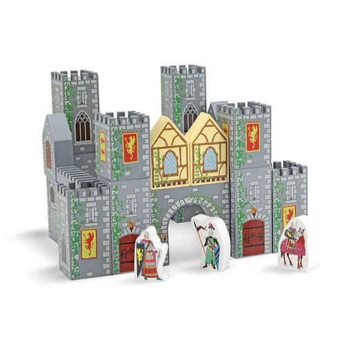 Melissa and Doug Castle Blocks Play Set
