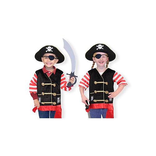 Melissa and Doug Pirate Costume Role Play Set