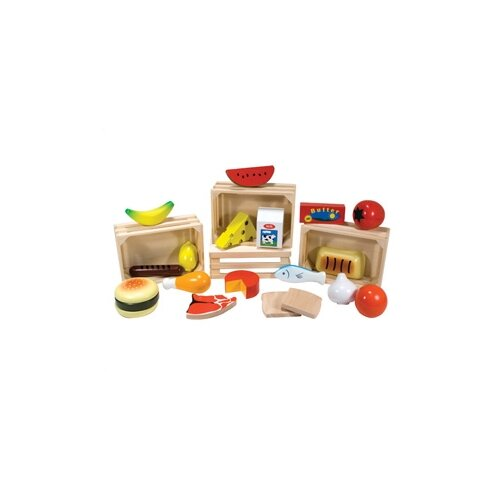 Melissa and Doug 21 Piece Food Groups Play Set