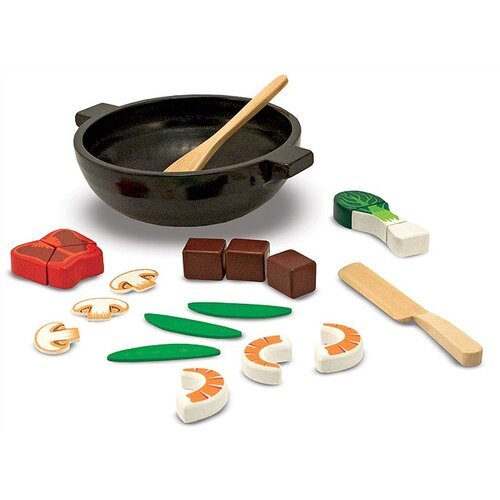 Melissa and Doug 23 Piece Stir Fry Slicing Set