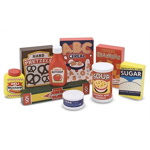 Melissa and Doug 9 Piece Dry Goods Set