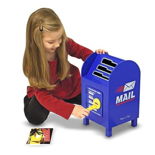 Melissa and Doug Mailbox and Mail Set