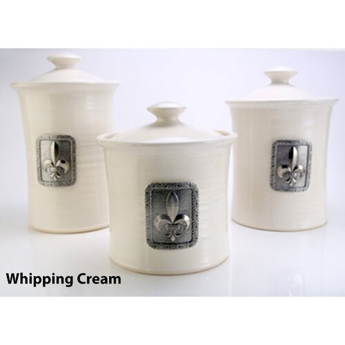 Buyers Choice Artisans Domestic Ceramic Canister (3 Piece Set)