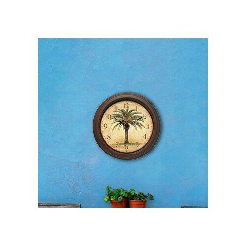 """Infinity Instruments 12"""" Cabana Wall Clock"""