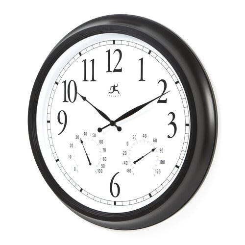 "Infinity Instruments 24"" Definitive Atomic Wall Clock"