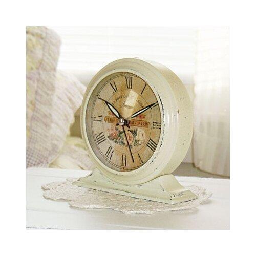 Infinity Instruments Boutique De Fleur Metal Alarm Clock