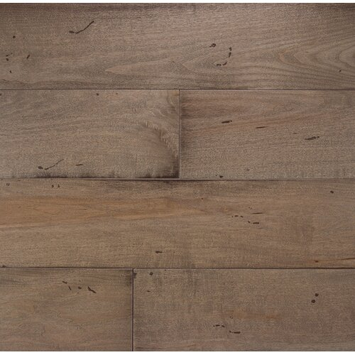 Wide Plank 7 Engineered Oak Flooring In Colonial Gray