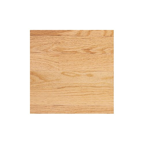 "Somerset Floors Color Plank 3-1/4"" Engineered Red Oak Flooring in Natural"