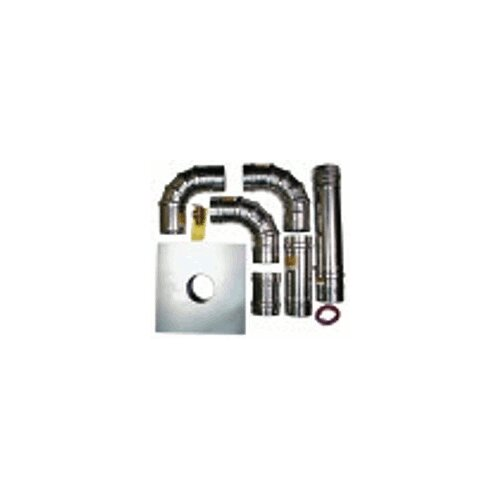 "Rheem Tankless Heaters 4"" Horizontal Termination Kit"