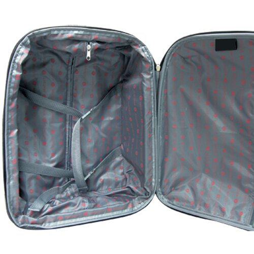 Travelers Club Villa 3 Piece Expandable Rolling Luggage Set