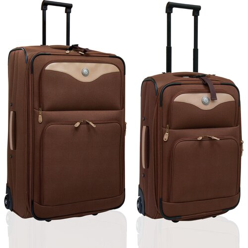 Adventure 2 Piece Expandable Luggage Set