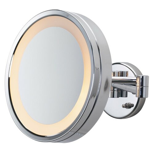 Halo Lighted Wall Mount Mirror