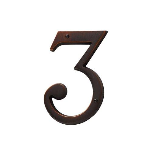 "Baldwin 5"" House Number"