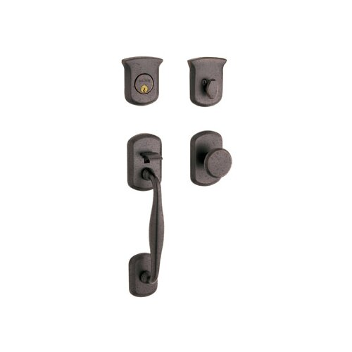 Baldwin Tahoe Sectional Trim Single Cylinder Handle Set