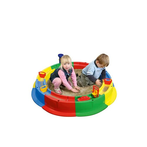 Wader Quality Toys Children's 2' Round Sandbox