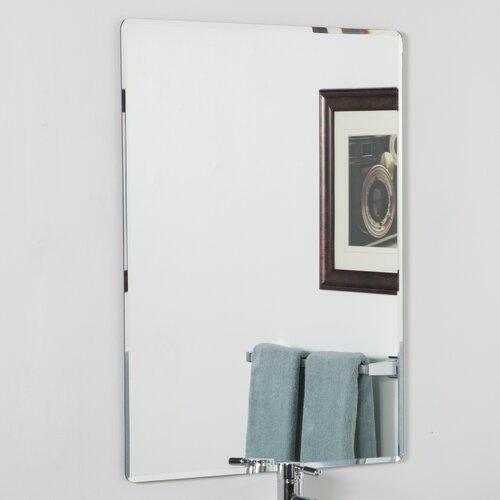 Http Www Wayfair Com Decor Wonderland Vera Frameless Bathroom Mirror Ssm216 Dcr1212 Html