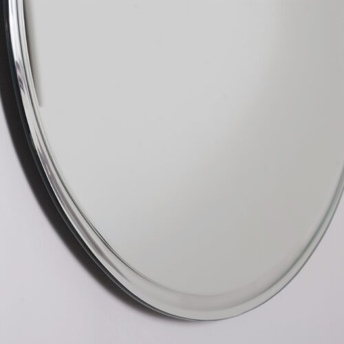 Decor Wonderland Frameless Marisol Wall Mirror