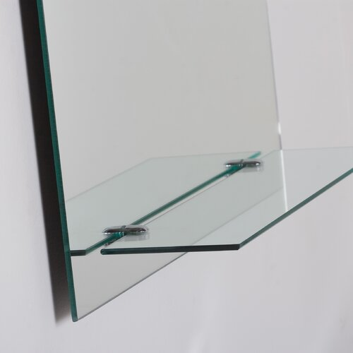Decor Wonderland Columbus Frameless Wall Mirror