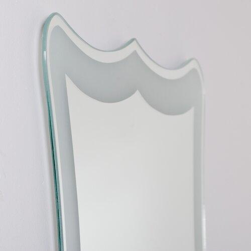 Decor Wonderland Coquette Frameless Wall Mirror
