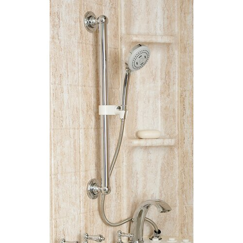 Safety Tubs Hand Shower Glide Bar System in Chrome