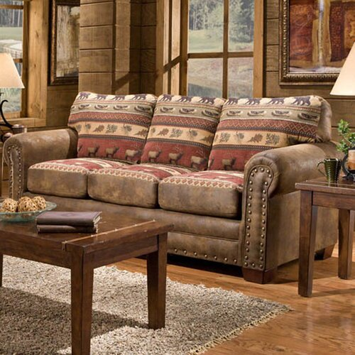 American Furniture Classics Lodge Sierra Sofa amp Reviews