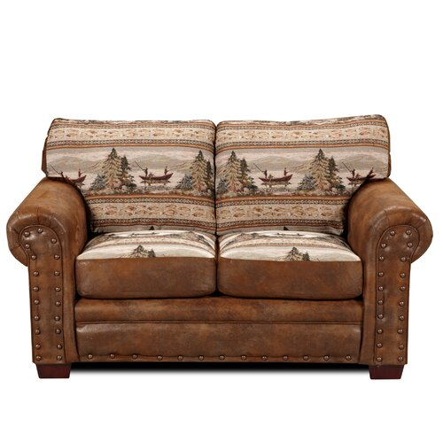 American Furniture Classics Lodge Alpine Loveseat