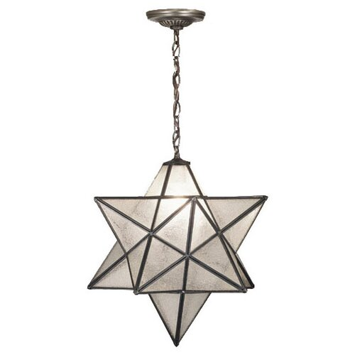 Meyda Tiffany 1 Light Star Pendant