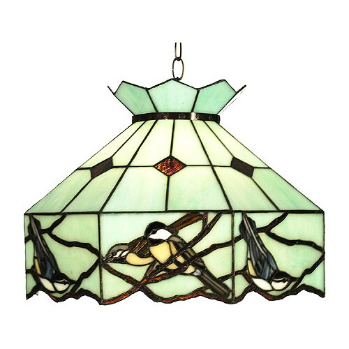 Meyda Tiffany Backyard Friends 1 Light Pendant