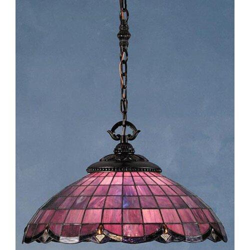 Victorian Nouveau 1 Light Elan Pendant