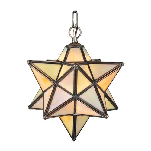 Lodge Arts and Crafts 1 Light Pendant