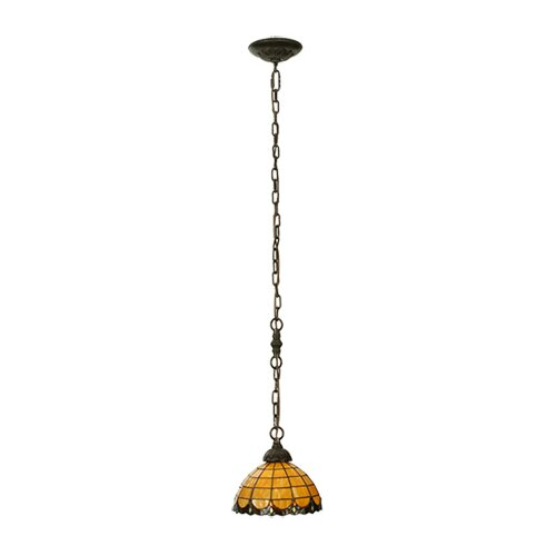 Victorian Elan 1 Light Mini Pendant