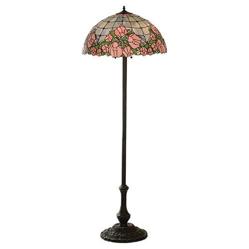 Meyda Tiffany Cabbage Rose Floor Lamp