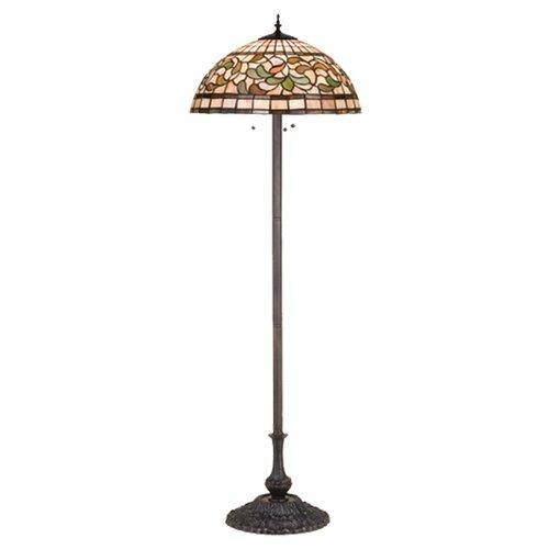 Meyda Tiffany Tiffany Turning Leaf Floor Lamp