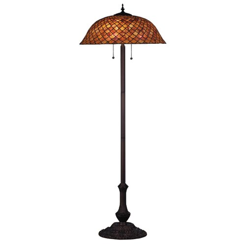 Meyda Tiffany Tiffany Fishscale Floor Lamp
