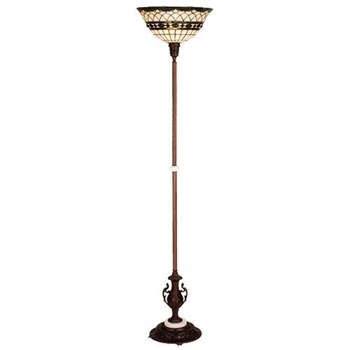Meyda Tiffany Tiffany Roman Torchiere Floor Lamp