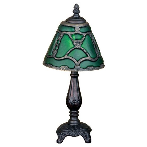 "Meyda Tiffany Castle Bantam Mini 15.5"" H Table Lamp"