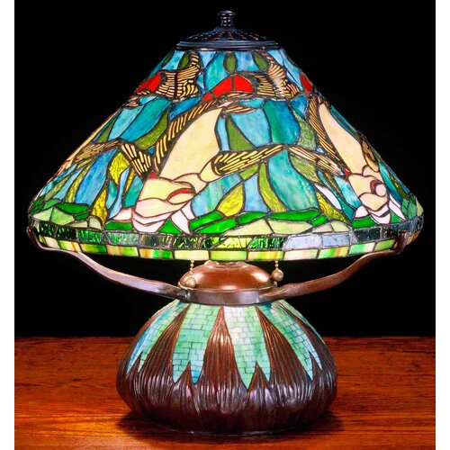 Meyda Tiffany Tiffany Nautical Koi Mosaic Base Table Lamp