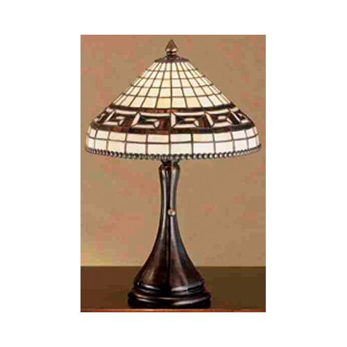 Meyda Tiffany Tiffany Greek Key Table Lamp