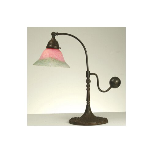 Meyda Tiffany Victorian Counter Balance Accent Table Lamp
